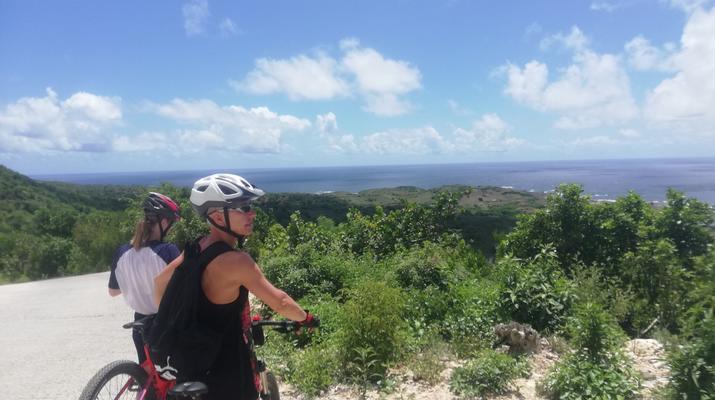 VTT-La Désirade-Randonnée VTT sur l'île de la Désirade, Guadeloupe-4