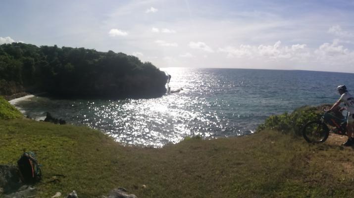 VTT-Sainte-Anne, Grande-Terre-Randonnée VTT à Grande Terre, Guadeloupe-3