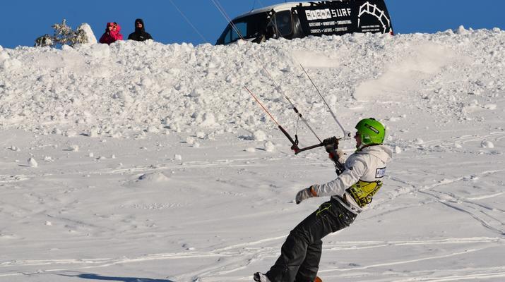 Snowkiting-Levi-Intro-/Anfänger-Snowkitekurs rund um Levi-2