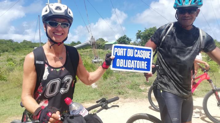 VTT-La Désirade-Randonnée VTT sur l'île de la Désirade, Guadeloupe-5