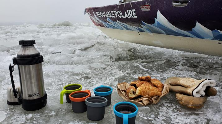 Kayaking-Quebec city-Ice Canoe Initiation in Quebec-4