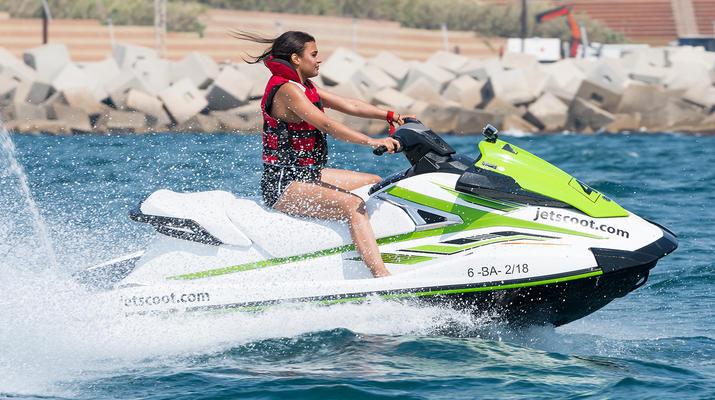Jet Skiing-Barcelona-Jet Ski Rentals in the Port Forum of Barcelona-4