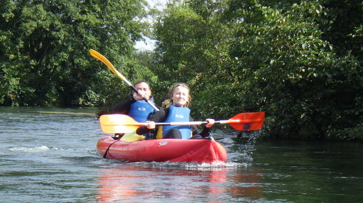 Canoë-kayak-Deauville - Trouville-Randonnée en Kayak sur la Touques en Normandie-2