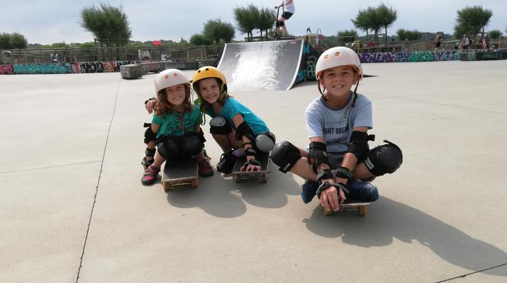 Skateboarding-Anglet-Skateboarding lesson in the Basque Country near Bayonne-4