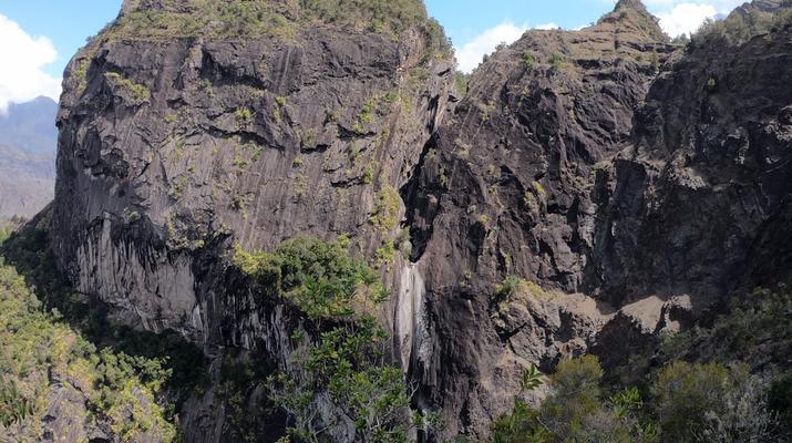 Canyoning-Cirque de Cilaos-Canyon de Fleur Jaune à La Reunion-7
