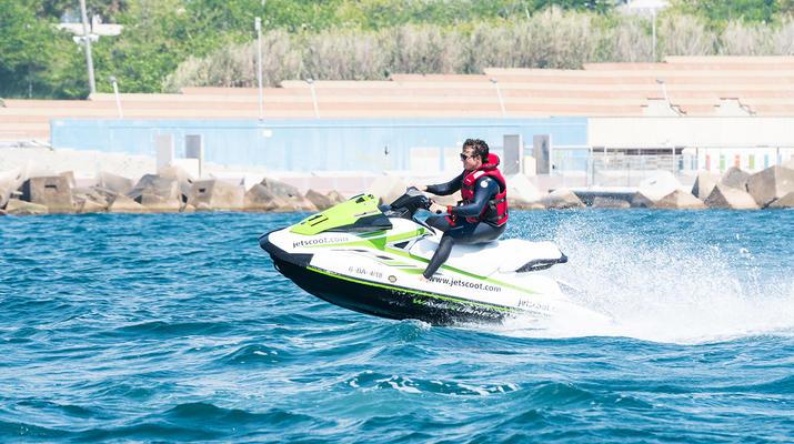 Jet Skiing-Barcelona-Jet Ski Rentals in the Port Forum of Barcelona-3