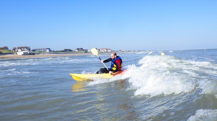 Kayak de mer-Deauville - Trouville-Cours de Kayak de Mer à Trouville-4
