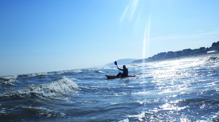 Kayak de mer-Deauville - Trouville-Cours de Kayak de Mer à Trouville-1