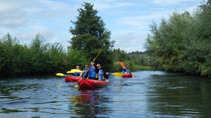 Canoë-kayak-Deauville - Trouville-Randonnée en Kayak sur la Touques en Normandie-1