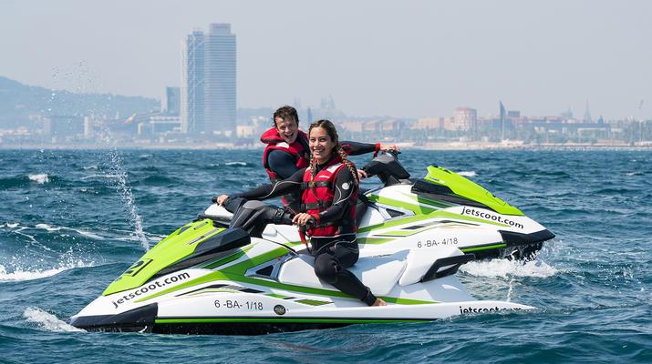 Jet Skiing-Barcelona-Jet Ski Rentals in the Port Forum of Barcelona-1