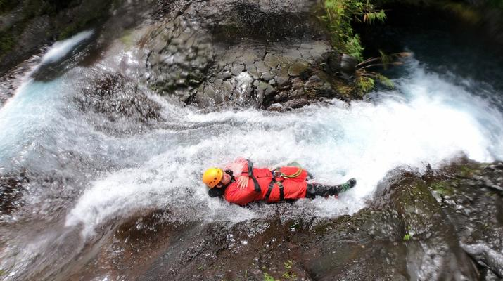 Canyoning-Langevin River, Saint-Joseph-Canyoning on Langevin River in La Reunion-5