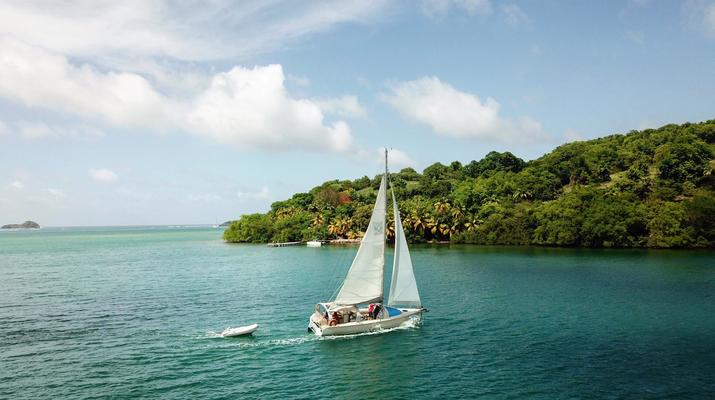 Voile-La Trinité-Journée voile aux îlets du Robert en Martinique-6