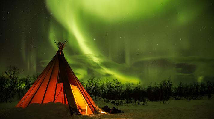 Hiking / Trekking-Abisko-Nightly Aurora photo tour in Abisko National Park-4