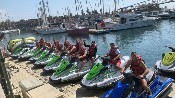 Jet Skiing-Barcelona-Jet Ski Rentals in the Port Forum of Barcelona-6