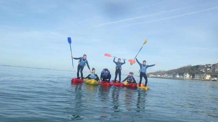 Kayak de mer-Deauville - Trouville-Cours de Kayak de Mer à Trouville-3