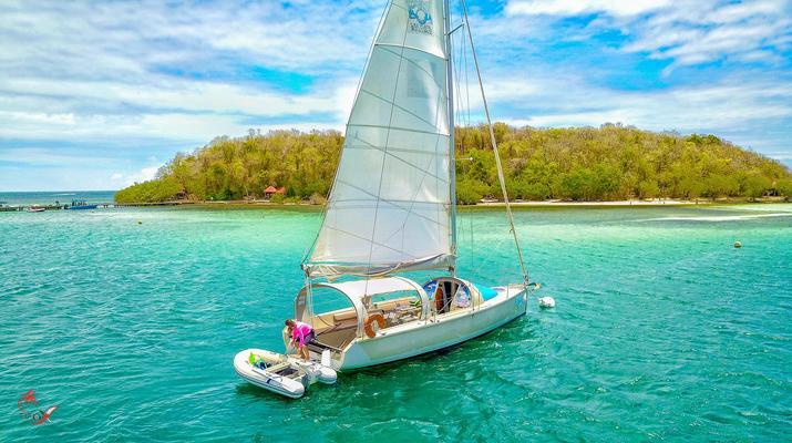 Voile-La Trinité-Journée voile aux îlets du Robert en Martinique-5