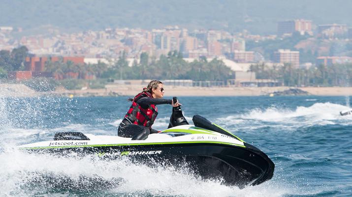 Jet Skiing-Barcelona-Jet Ski Rentals in the Port Forum of Barcelona-2
