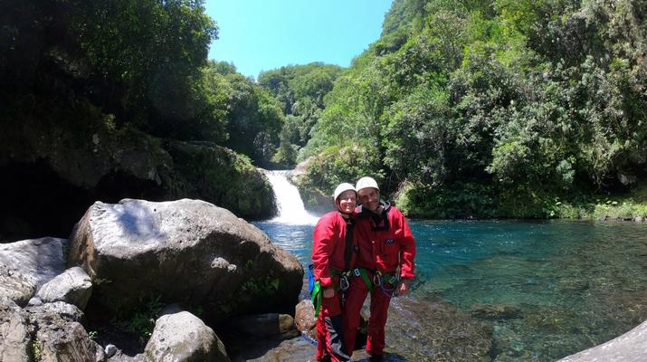 Canyoning-Langevin River, Saint-Joseph-Canyoning on Langevin River in La Reunion-11
