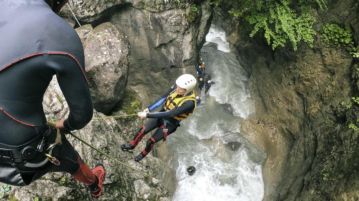 Canyoning-Interlaken-Canyoning in the Saxeten Gorge in Interlaken, Switzerland-6