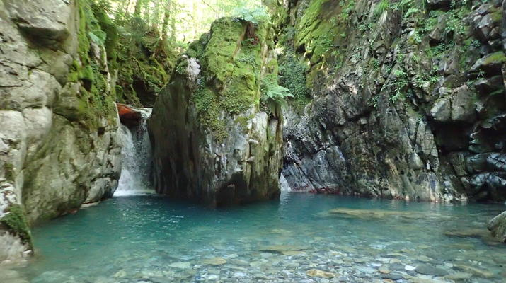 Canyoning-Laruns-Full day canyoning down the canyon of Canceigt and Bious  in Ossau Valley-6