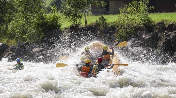 Rafting-Interlaken-River Rafting Lütschine near Interlaken, Switzerland-1