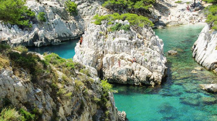 Randonnée / Trekking-Marseille-Randonnée au parc national des Calanques, Marseille-7