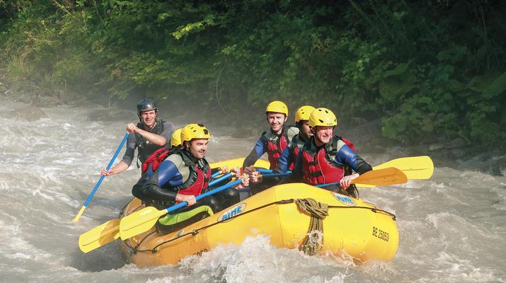 Rafting-Interlaken-River Rafting Lütschine near Interlaken, Switzerland-6