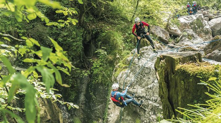 Canyoning-Interlaken-Canyoning in the Saxeten Gorge in Interlaken, Switzerland-2