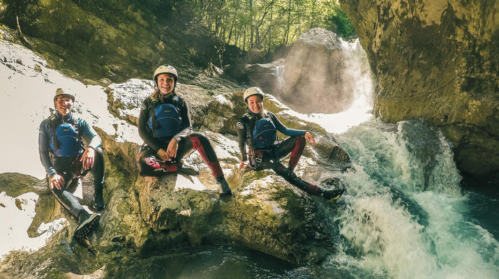 Canyoning-Interlaken-Canyoning in the Saxeten Gorge in Interlaken, Switzerland-5