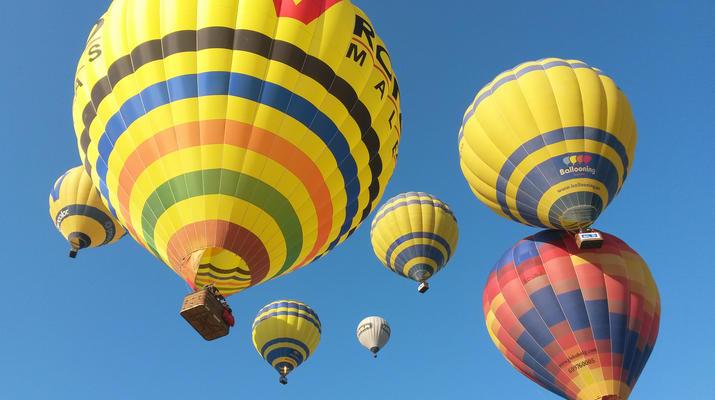 Hot Air Ballooning-Barcelona-Hot air Balloon flight from Cardedeu, near Barcelona-1