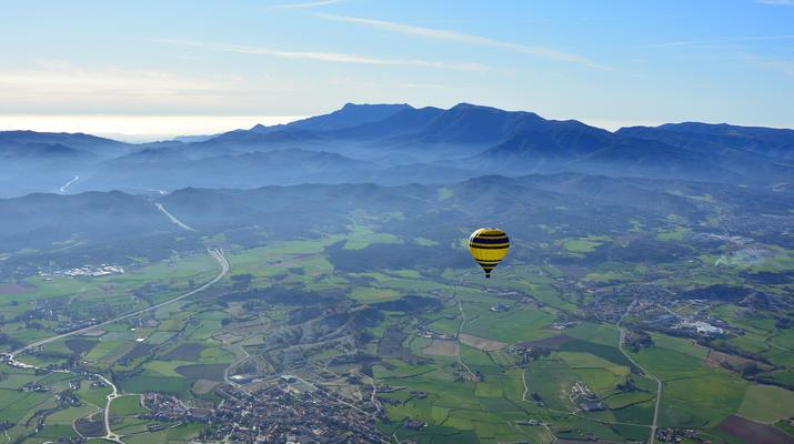 Hot Air Ballooning-Barcelona-Hot air Balloon flight from Cardedeu, near Barcelona-2