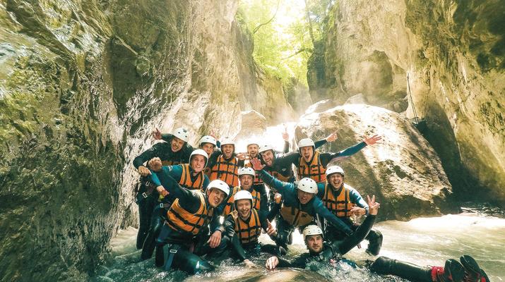 Canyoning-Interlaken-Canyoning in the Saxeten Gorge in Interlaken, Switzerland-4