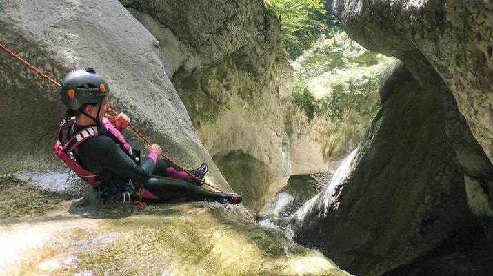 Canyoning-Interlaken-Canyoning Chli Schliere near Interlaken, Switzerland-2