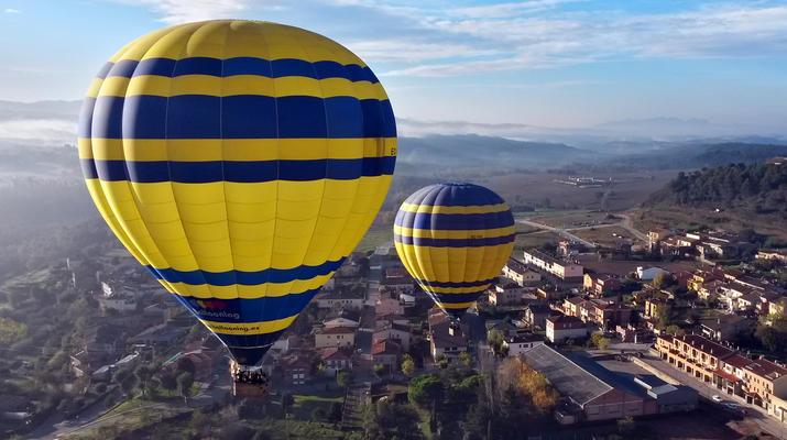 Hot Air Ballooning-Barcelona-Hot air Balloon flight from Cardedeu, near Barcelona-5