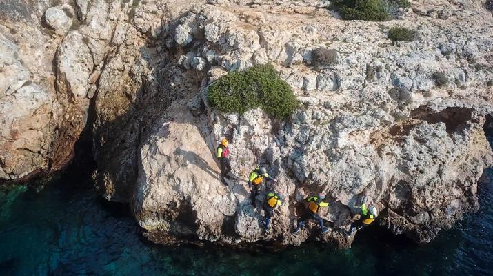 Coasteering-Alcudia-Coasteering excursion in Alcudia, Mallorca-1