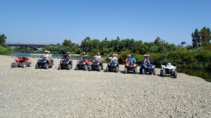 Quad biking-Malaga-Excursion en quad à Churriana, près de Málaga-4