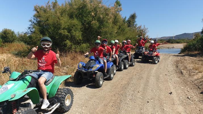 Quad biking-Malaga-Excursion en quad à Churriana, près de Málaga-6