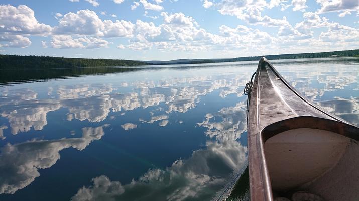 Kayaking-Kiruna-Canoe Day Tour in Swedish Lapland near Kiruna-4