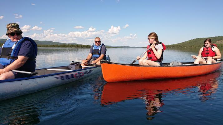 Kayaking-Kiruna-Canoe Day Tour in Swedish Lapland near Kiruna-3
