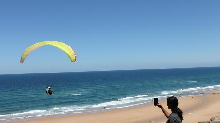 Parapente-Burgau-Parapente en tandem à Praia do Burgau, à Vila do Bispo-1