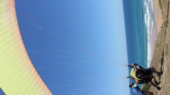 Parapente-Burgau-Parapente en tandem à Praia do Burgau, à Vila do Bispo-5