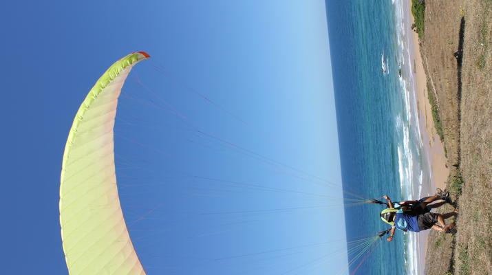 Parapente-Burgau-Parapente en tandem à Praia do Burgau, à Vila do Bispo-3