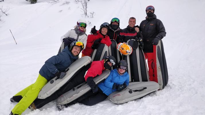 Experiencias en la nieve-Val Cenis, Haute Maurienne-Sesión de Airboard en Val Cenis, Macizo de la Vanoise-5