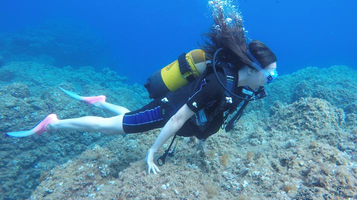 Plongée sous-marine-Antibes-Baptême de Plongée à Antibes-2