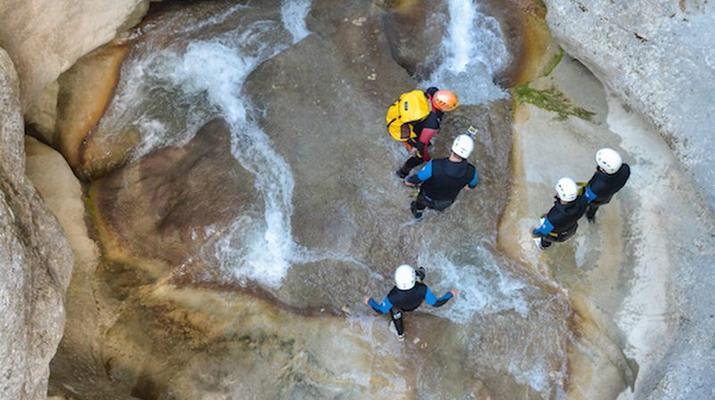 Canyoning-Gorges du Verdon-Canyon de la Clue de Saint Auban dans les Gorges du Verdon-3
