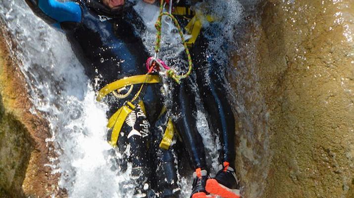 Canyoning-Gorges du Verdon-Canyon de la Clue de Saint Auban dans les Gorges du Verdon-5