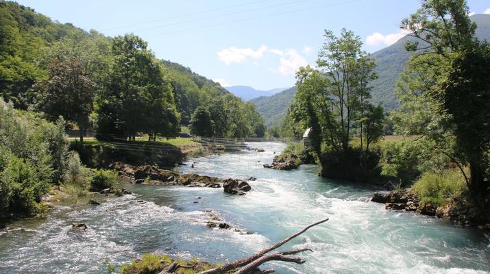 Hydrospeed-Hautes-Pyrénées-Hydrospeed sur le Gave de Pau, près de Lourdes-1