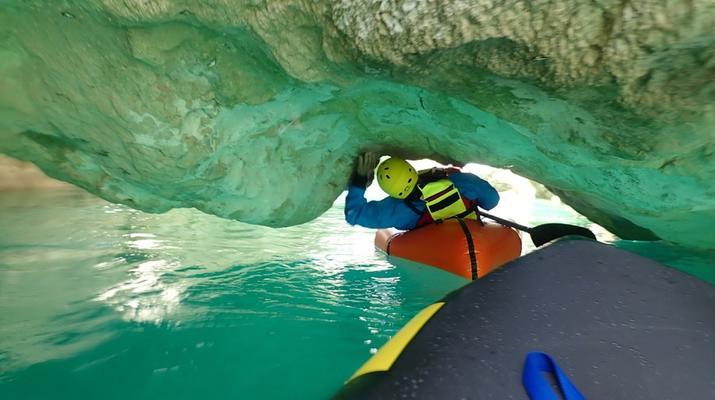 Rafting-Gorges du Verdon-Descente découverte Packraft dans les Gorges du Verdon-1