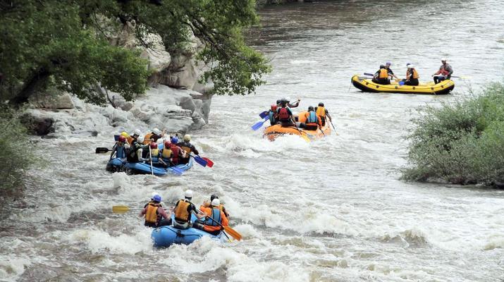 Rafting-Kresna-Descenso del río Struma desde Sofía-1