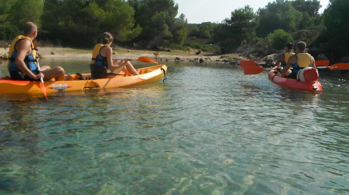 Sea Kayaking-Menorca-Sea Kayaking Excursion from Fornells in Menorca-3